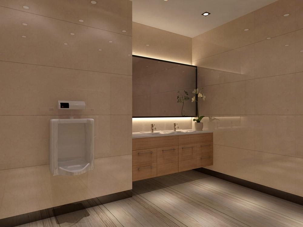 洗手間設計效果圖視角賞析/深圳凱派裝飾工程有限公司